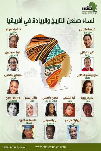 نساء صنعن التاريخ والريادة في أفريقيا