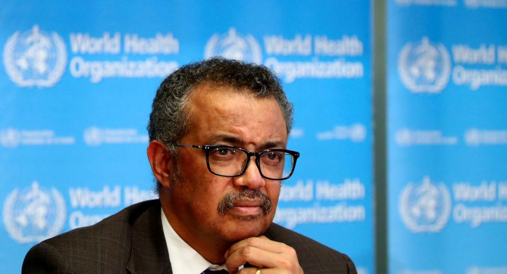 تيدروس أدهانوم جيبريسوس - رئيس منظمة الصحة العالمية
