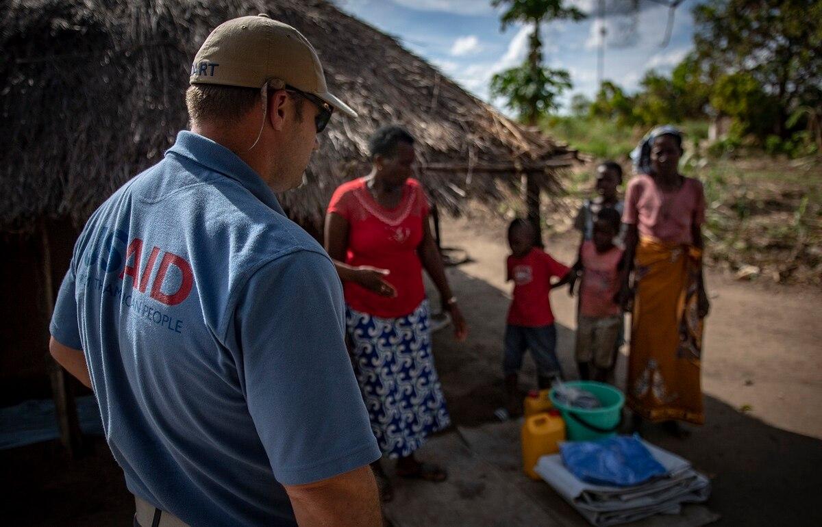 مساعدات أفريقية - أرشيفية