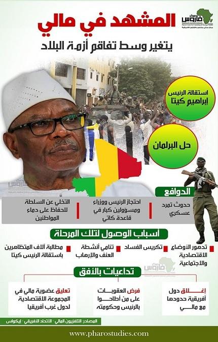 المشهد في مالي يتغير وسط تفاقم أزمة البلاد