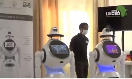 فيديو| من الأرض الأكثر ازدهارًا.. الروبوتات تكافح «كوفيد-19» في رواندا