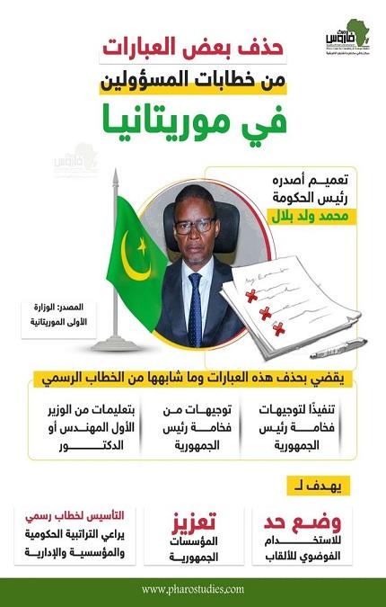 حذف بعض العبارات من خطابات المسؤولين في موريتانيا
