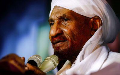 «الصادق المهدي».. إمام الأنصار وقائد الأمة والشاهد على تاريخ السودان