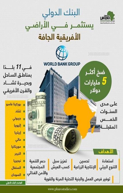 البنك الدولي يستثمر فى الأراضي الأفريقية الجافة