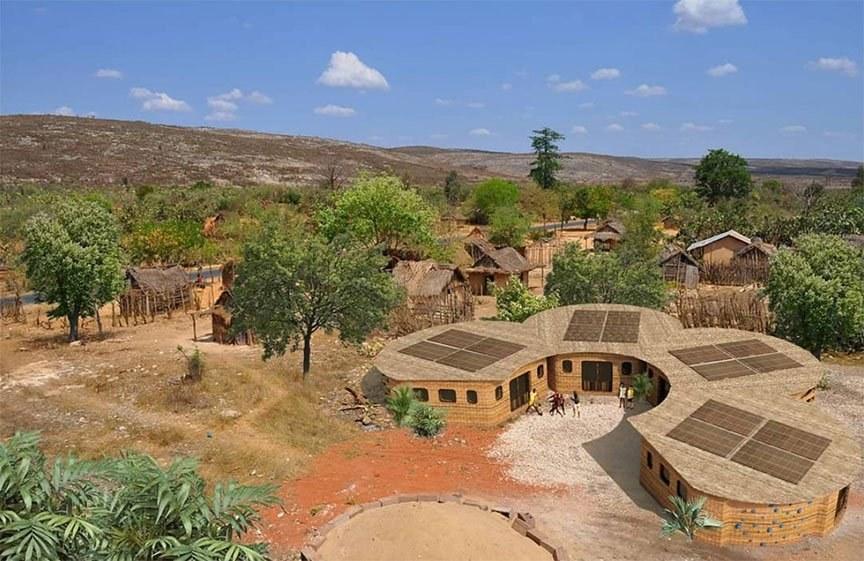 أول مدرسة «ثلاثية الأبعاد» بمدغشقر لحل أزمة التعليم في أفريقيا