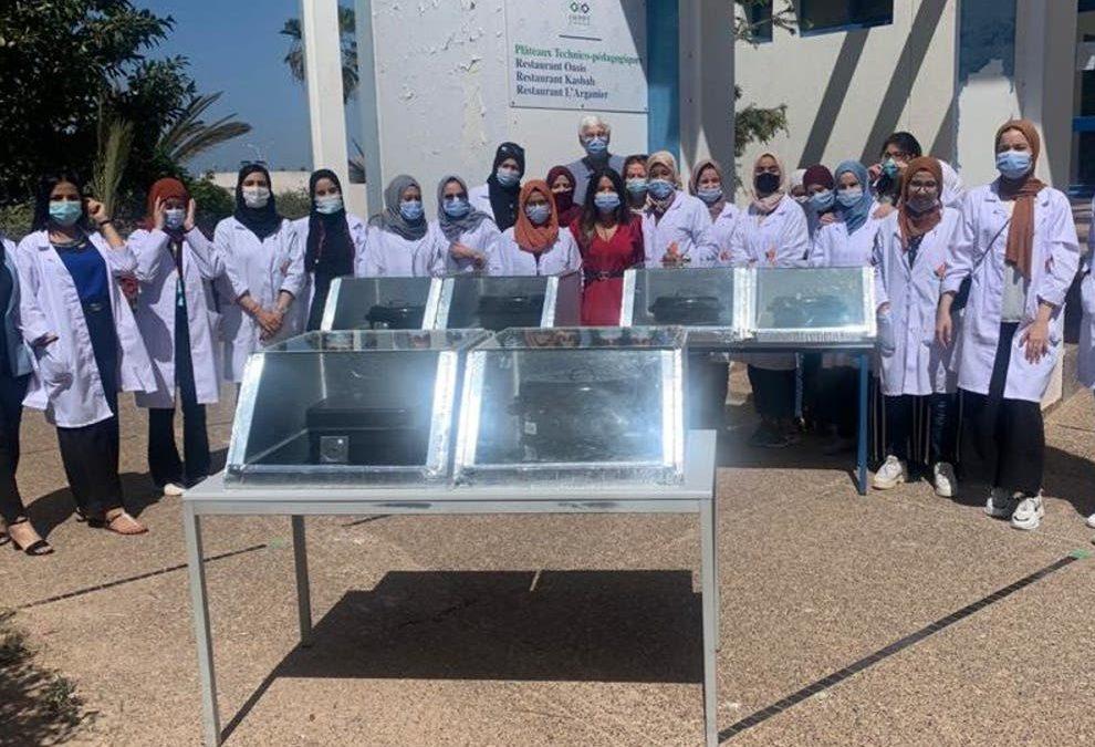 نساء المغرب يصنعن الغد بأيديهن عن طريق  «الطاقة الشمسية»