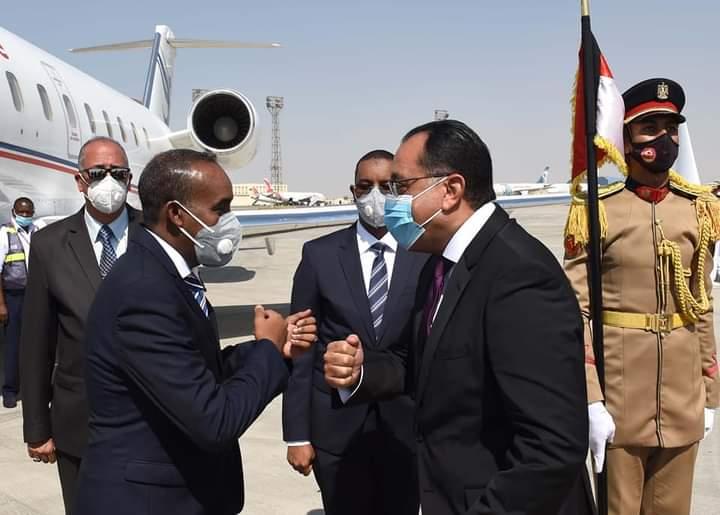 دلالات زيارة رئيس الوزراء الصومالي للقاهرة