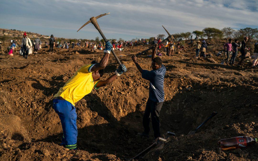 حمى الماس في جنوب أفريقيا.. أمل وقوده اليأس رغم البريق الزائف